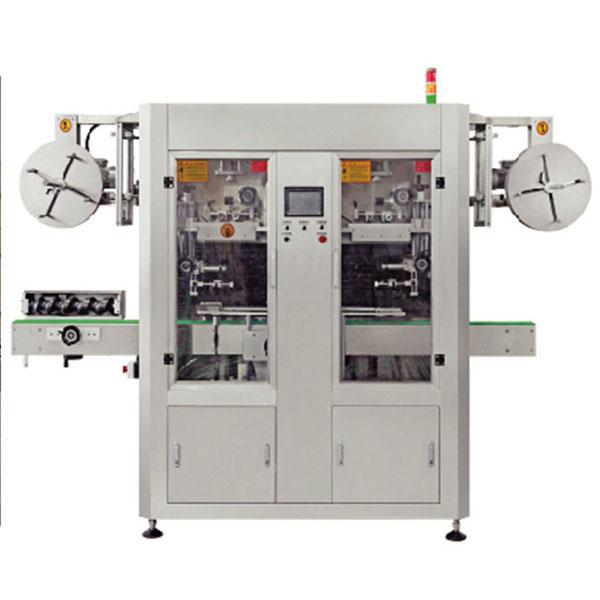 Stroj na označování vodním smršťovacím rukávem