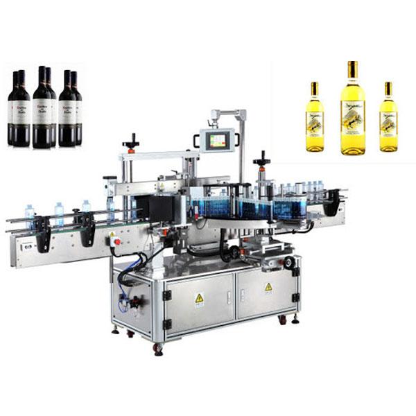 Stroje na označování lahví vína