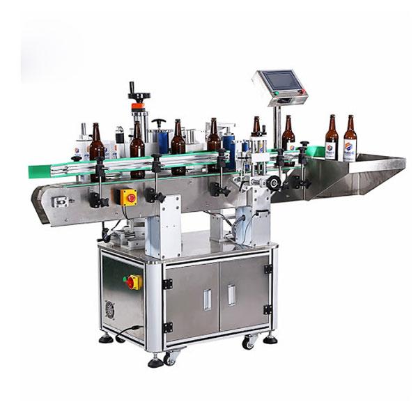 Stroj na označování lahví vína