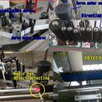 Samolepka na kosmetické lahve Kulatý etiketovací stroj / Samolepicí etiketovací stroj