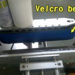 Stroj na nanášení štítků na nehty