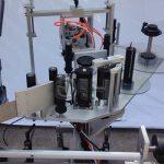 Stroj na označování kulatých lahví nahoře / dole s automatickým štítkem