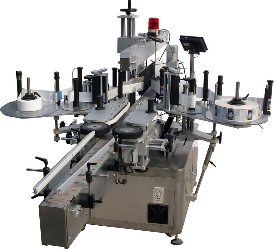 Automatický etiketovací stroj s plochým povrchem pro sáčky Factory High Speed