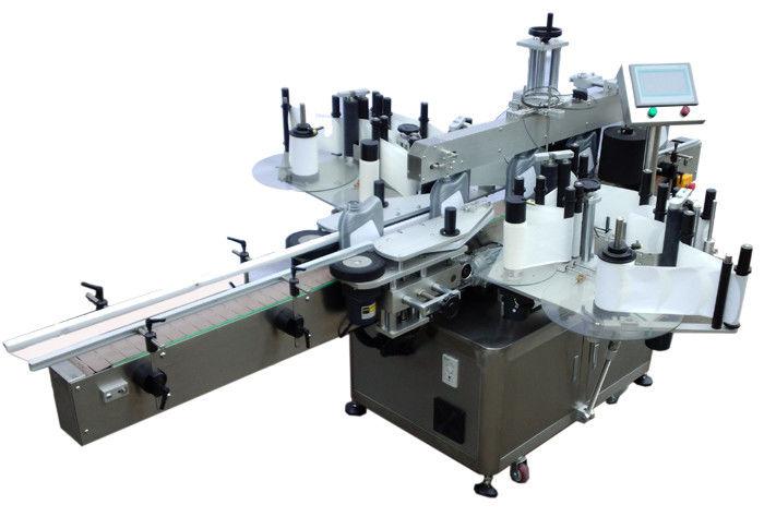 Čína SUS304 z nerezové oceli Economy oboustranný štítkovací štítkovací stroj pro dodavatele značení lahví