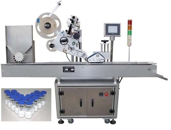 10ml malý lahvičkový etiketovací stroj pro farmaceutika