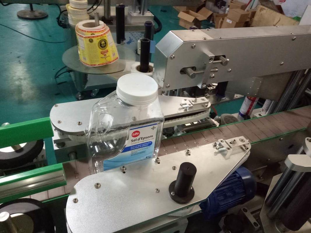 Oboustranný štítkovací stroj na štítky na lahve pro výrobky osobní péče