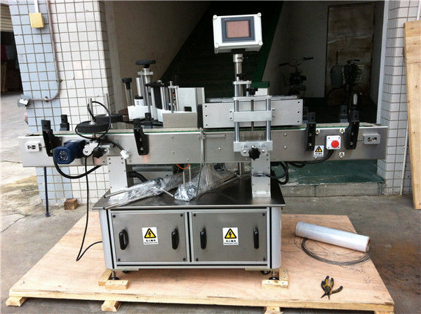 Stroj na označování štítků na kulaté lahve s ovocnou / zeleninovou šťávou pro nápojový průmysl