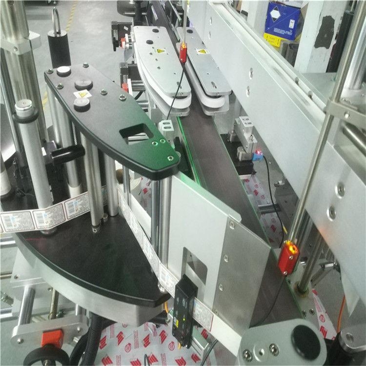 Automatický stroj na označování oboustranných štítků pro čtvercovou kulatou plochou láhev