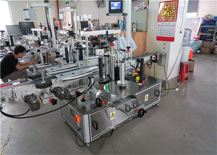 Čína čtvercová láhev automatický aplikátor etiket stroj jeden štítek čtyřstranný dodavatel