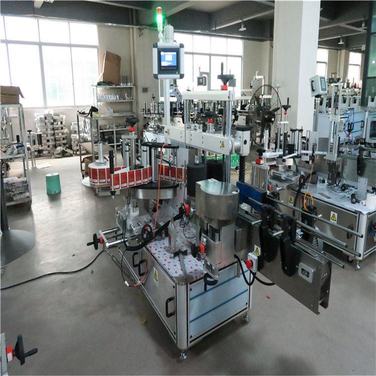 Čína Plochý vysokorychlostní etiketovací stroj na dvě strany pro dodavatele kosmetiky / nápojů