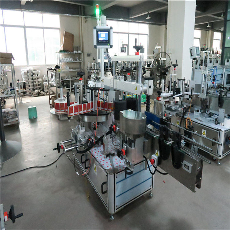 Plochý vysokorychlostní etiketovací stroj na dvě strany pro kosmetiku / nápoje