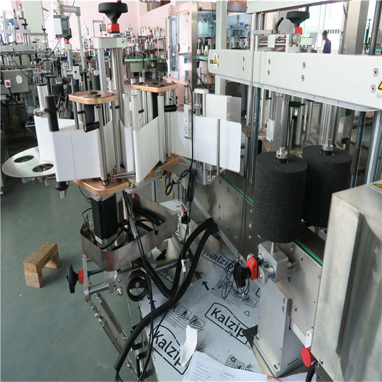 Čína Jednostranný / jednostranný vysokorychlostní etiketovací stroj s automatickým plochým plastovým buke dodavatelem
