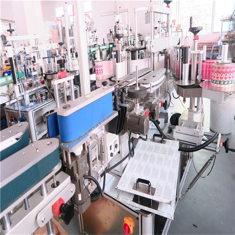 Čína láhev oboustranný etiketovací stroj pro různé dodavatele plochých čtvercových lahví