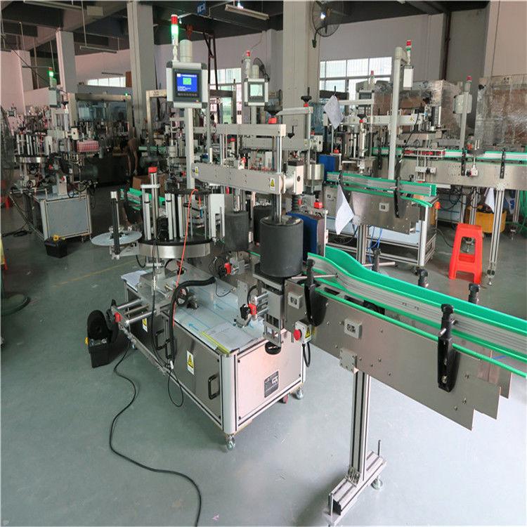 Čína Kulatý etiketovací stroj na lahve, automatický aplikátor etiket Dodavatel samolepících etiket