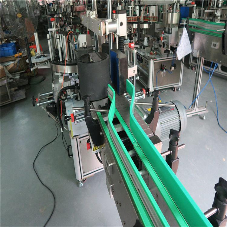 Čína dva automatické samolepicí etiketovací stroje oboustranný popisovač 6000-8000 B / H dodavatele