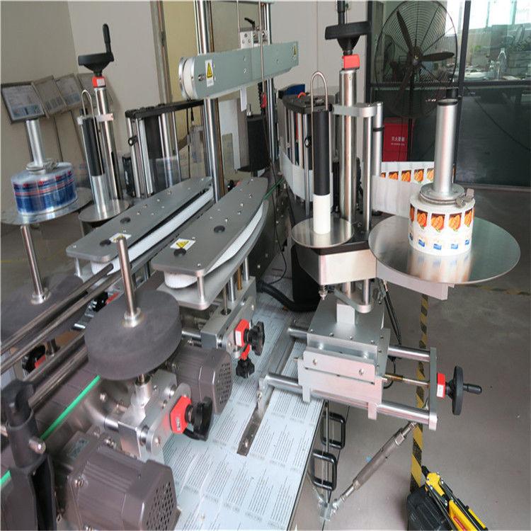 Aplikátor štítků na štítky v Číně, dodavatel strojů na označování kulatých lahví s jednou / oboustrannou značkou