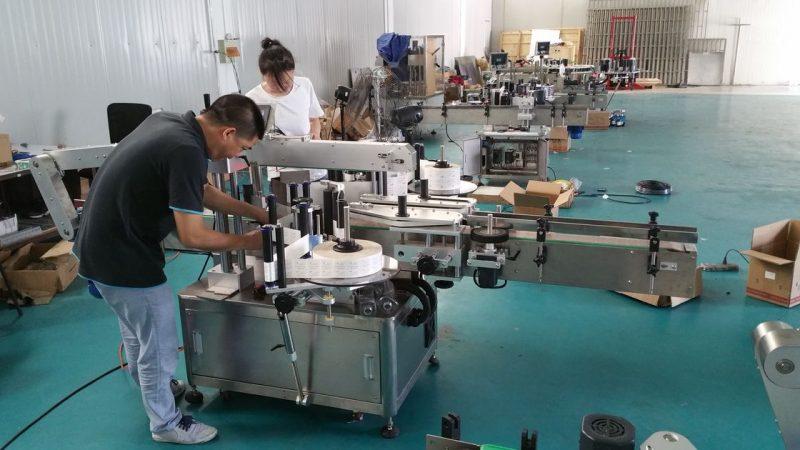 Čína přizpůsobený stroj na značení lahví na vodu, automatický etiketovací stroj pro dodavatele oboustranných dodávek