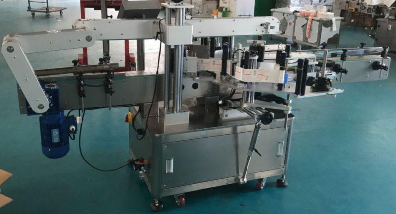 Čína Automatický štítkovací stroj na skleněné láhve, dodavatel štítkovacích štítků