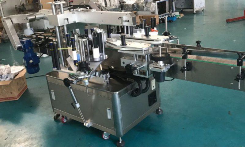 Čína vysokorychlostní oboustranný štítkovací štítkovací stroj pro dodavatele čtvercových / kulatých / plochých lahví