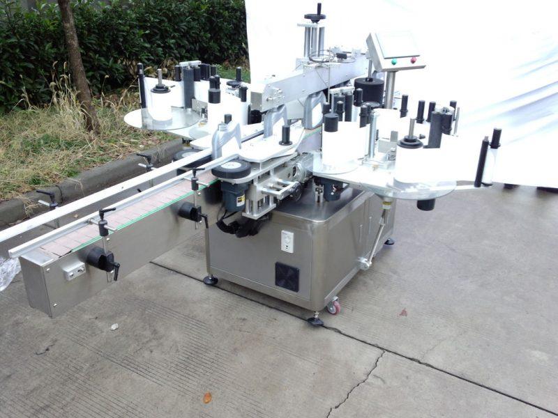 Čína přizpůsobený tří nebo oboustranný štítkovací štítkovací stroj s dodavatelem kódovacího stroje