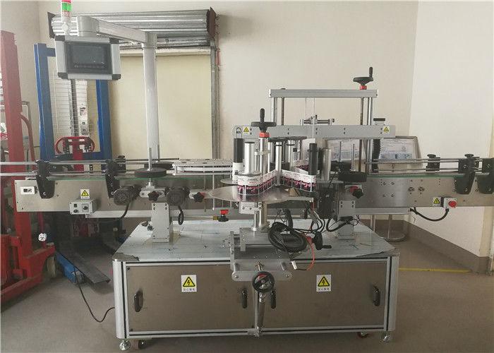 2hlavý přední a zadní oboustranný štítkovací štítkovací stroj pro oválnou láhev