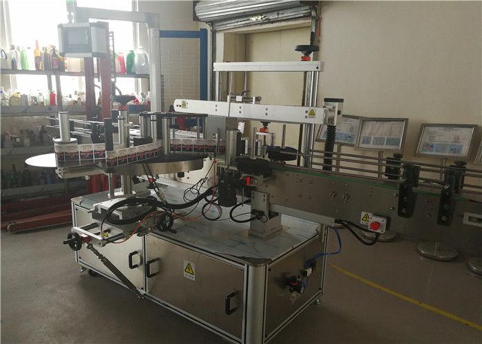 Oboustranný etiketovací stroj s oboustrannou lahví nebo šamponovou oválnou lahví