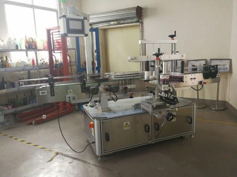 Čína plně automatický stroj na etiketování čtvercových lahví pro dodavatele 3000-5000B / H