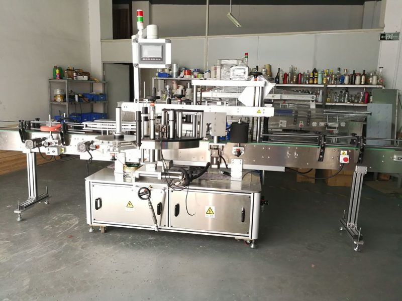 Stroj na značení kulatých lahví v Číně / plně automatický dodavatel aplikátoru štítků s plochým povrchem