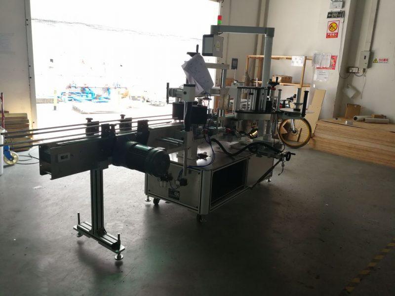 Čína Plochý lahvový citlivý etiketovací stroj s jednostranným nebo oboustranným dodavatelem