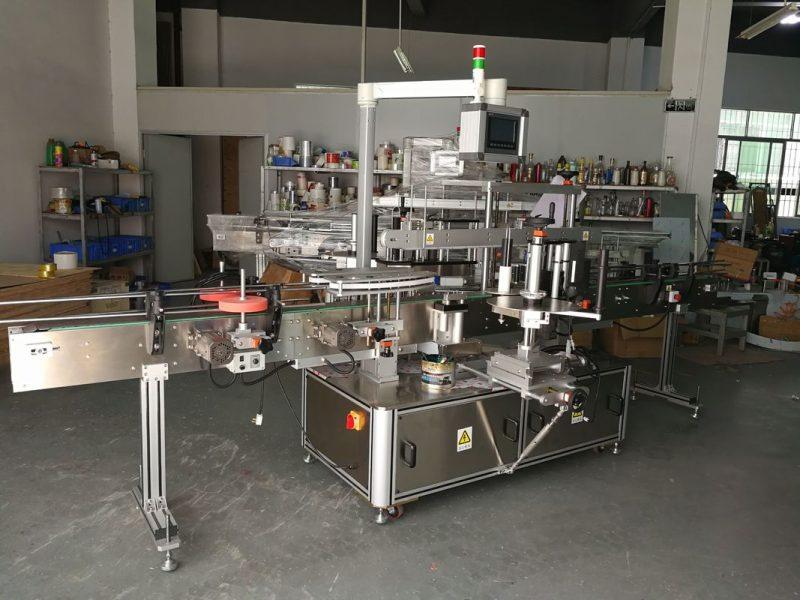 Čína vysoce přesný multifunkční stroj na označování plochých lahví s elektrickým pohonem
