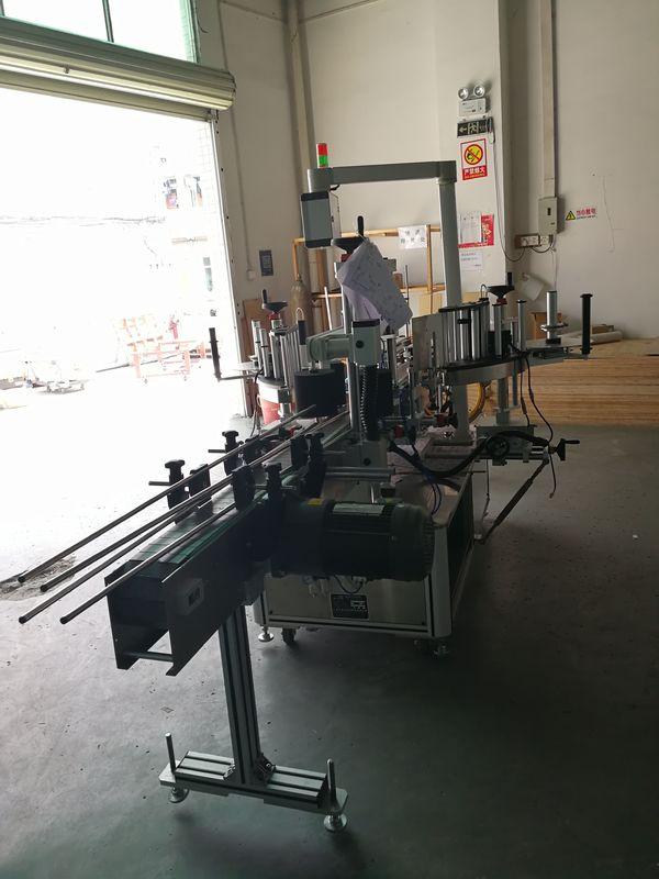 Samolepka na přední a zadní etiketovací stroj na oválné / obdélníkové / hranaté láhvi
