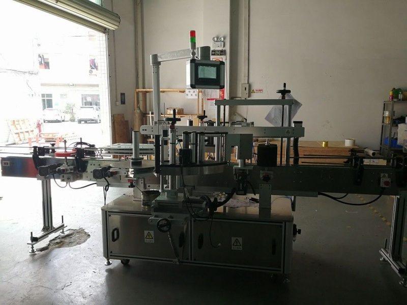 Čína oboustranný čtvercový etiketovací stroj s vysokou přesností 50 Hz dodavatel