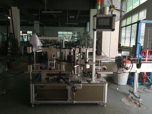 Čína oboustranný stroj na označování plastových lahví / automatický dodavatel etiket na lahve