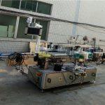 Automatický oboustranný etiketovací stroj pro ploché čtvercové lahve