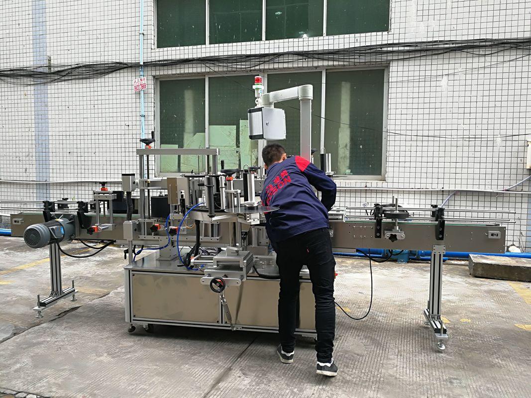 Plně automatický stroj na označování lahví na vodu pro skleněné / PET lahve