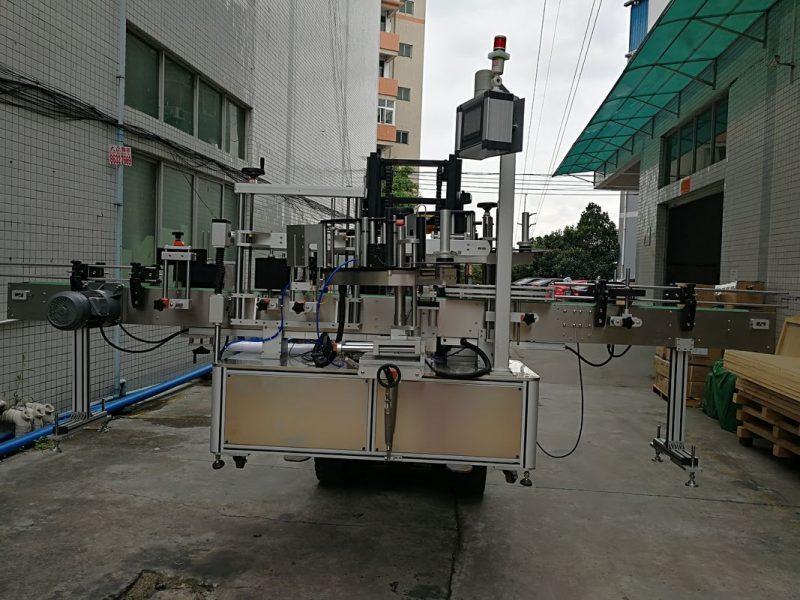 Čína automatický aplikátor štítků na oboustranné štítky pro dodavatele plastových nádob