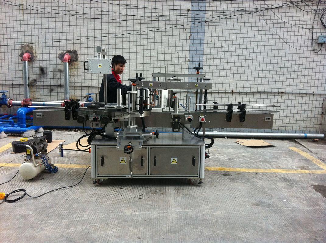 Plně automatický stroj na označování kulatých lahví pro lahve na zvířata
