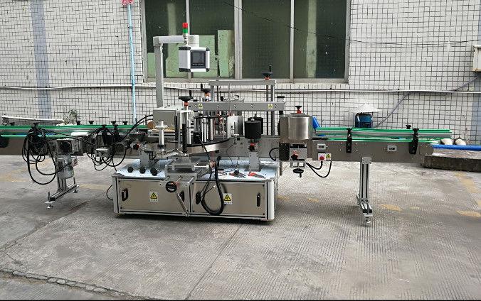 Čína oboustranný automatický štítkovací štítkovací stroj s dodavatelem servomotoru