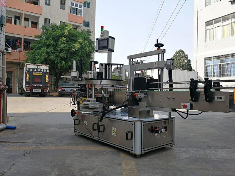 Čína Vysokorychlostní automatický třístranný čtvercový lahvový aplikátor etiket s dodavatelem jednoho štítku
