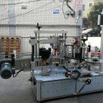 Samolepicí válcový / oválný stroj na označování lahví s dotykovou obrazovkou PLC