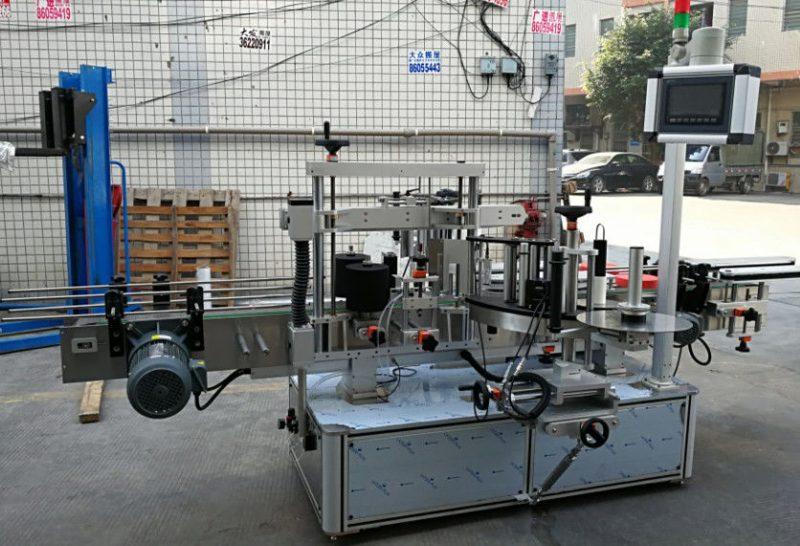 Čína plně automatický štítkovací etiketovací stroj, samolepicí aplikátor etiket pro dodavatele lahví