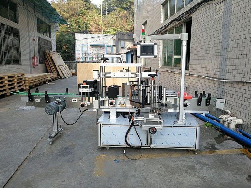 Čína Automatická samolepka na štítky na ploché lahve Integrovaný přední a zadní dodavatel