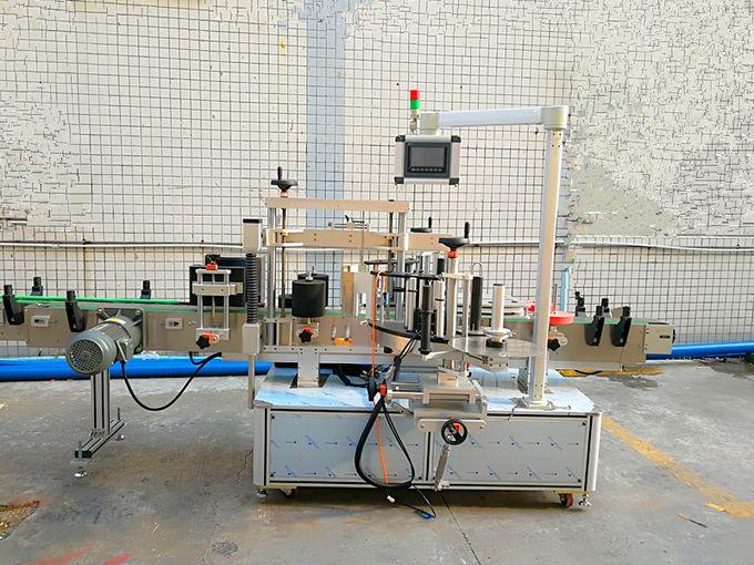 Jednoduchý automatický přední a zadní etiketovací stroj s oboustrannou stranou