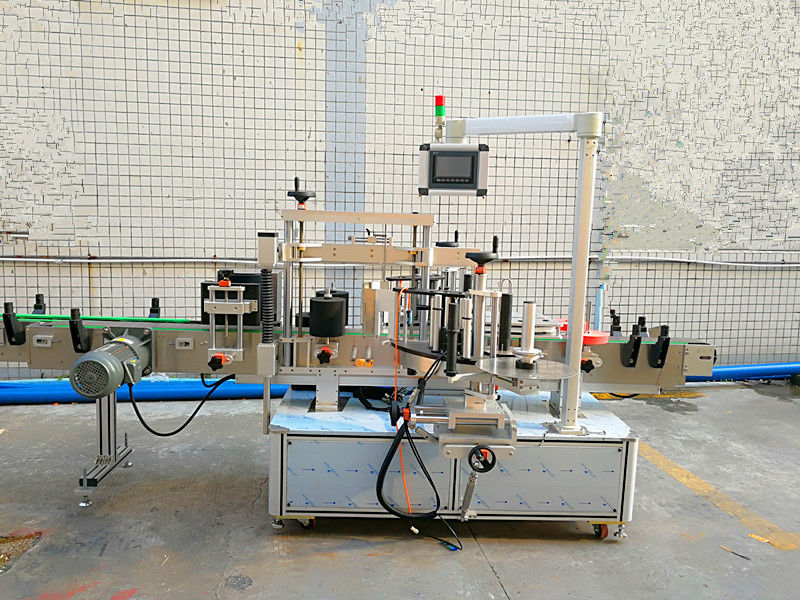 Jednoduchý automatický přední a zadní štítkovací stroj s oboustrannou stranou