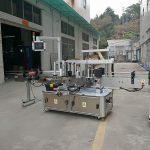 Třístranný automatický stroj na označování čtvercových lahví s elektrickým pohonem