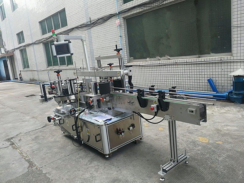 Čína samolepicí samolepka oboustranný stroj na označování lahví plně automatický dodavatel