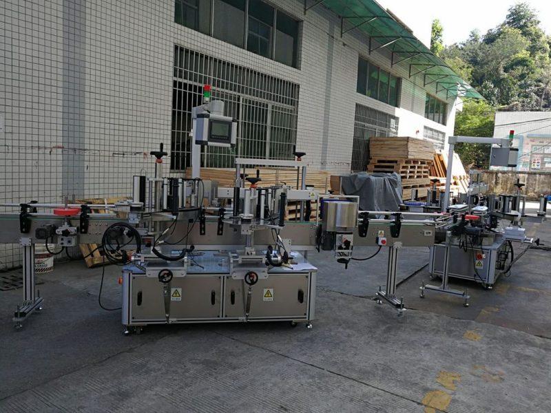 Čína plochý / čtvercový štítek na štítky na lahve, plně automatický dodavatel kapacity 5000-8000B / H
